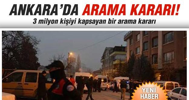 Başkent'te polise izinsiz arama yetkisi