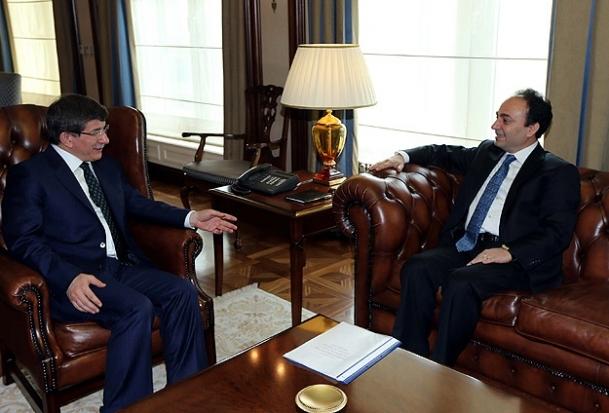 Baydemir'den Davutoğlu'na iade-i ziyaret