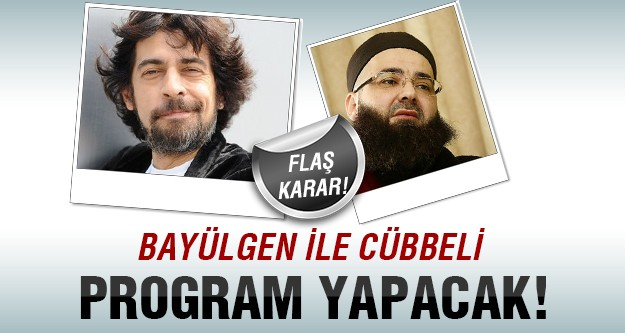 Bayülgen'in birlikte program yapacağı sürpriz isim!