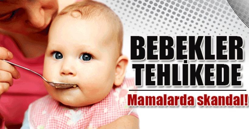 Bebek mamasında skandal!