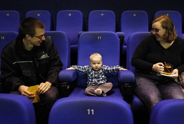 Bebekler için sinema