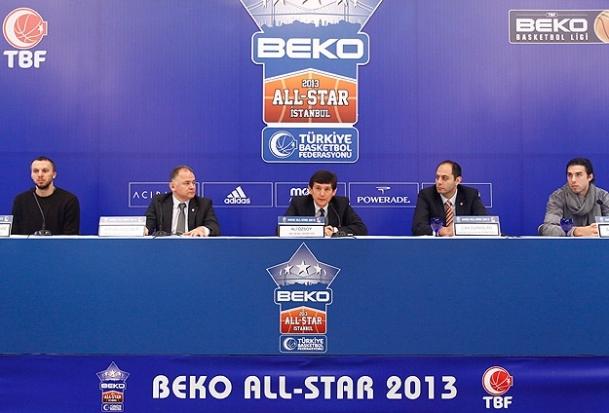 Beko All Star 2013 kadroları açıklandı