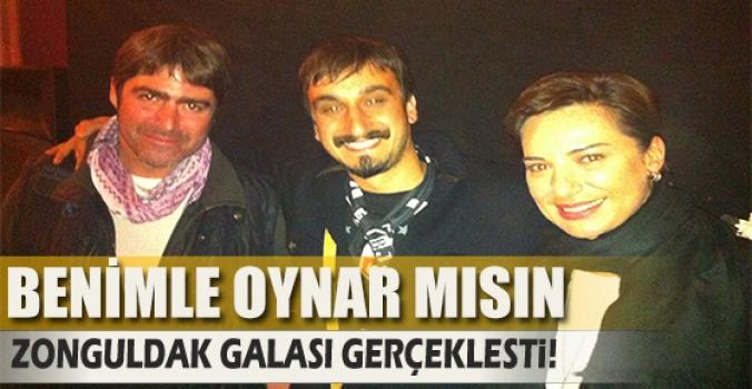 Benimle Oynar mısın Zonguldak'ta gösterime girdi...