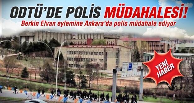 Berkin Elvan eylemine Ankara'da polis müdahale ediyor