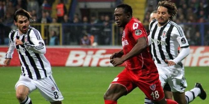 Beşiktaş'ı Karabük'te kiraladığı futbolcusu Eneramo devirdi!