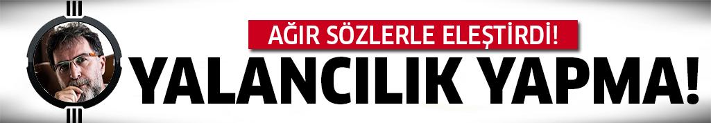 Ahmet Hakan'dan Cübbeli'ye şok sözler!