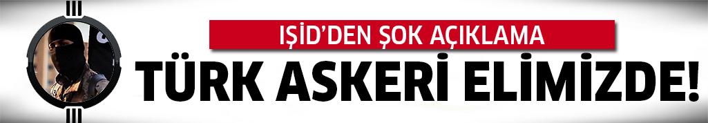 Türk askerini rehin tuttuğunu iddia etti!