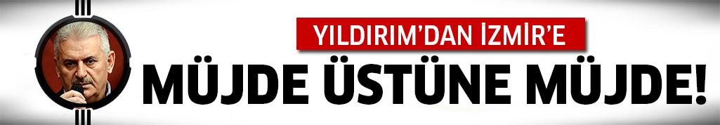 İşte İzmir için projeleri!