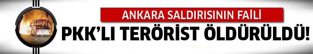 PKK'lı terörist öldürüldü!