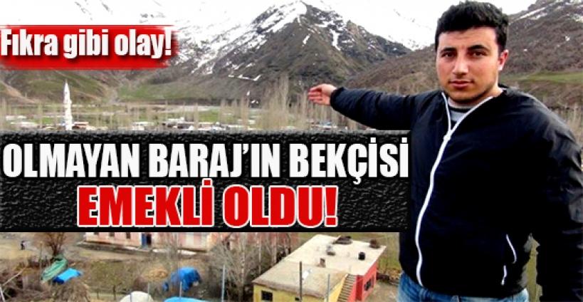 Bitlis'te 52 yıldır bekçisi olan barajın kendisi yok