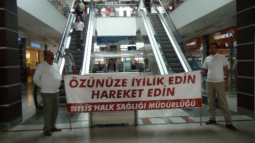 Bitlis'te obeziteye dikkat çekildi