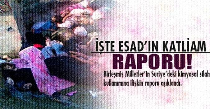 BM Esad'ın katliam raporu açıkladı!