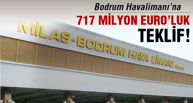 Bodrum Havalimanı'na en büyük teklif: TAV Holding'ten!