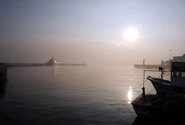 Boğaz transit gemi geçişlerine kapatıldı