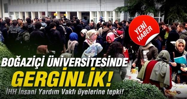 Boğaziçi Üniversitesi'nde gerginlik