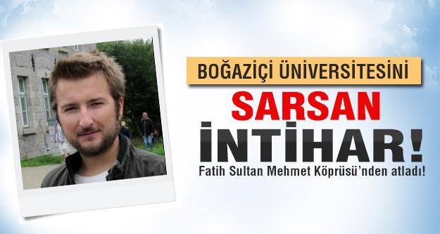 Boğaziçi Üniversitesi'ni sarsan intihar