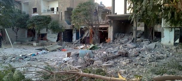 Bombardımanın ardından topçu ateşi