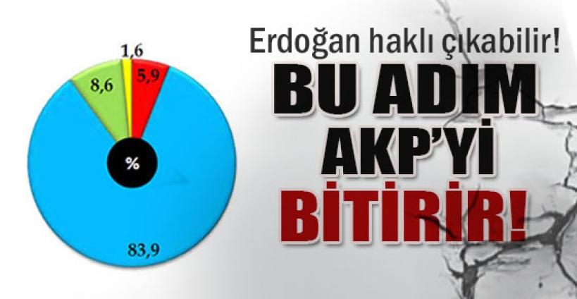 Bu adım AK Parti'yi bitirir