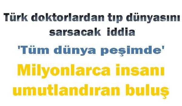 Bu buluş Türkiye'yi dünyada bir numara yapacak