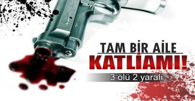Burdur'da aile katliamı!