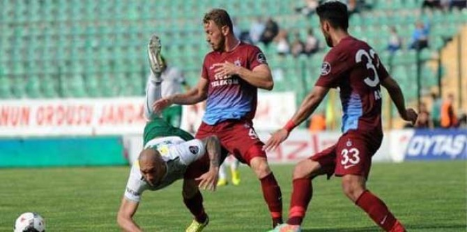Bursaspor 3-3 Trabzonspor