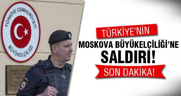 Büyükelçiliğe silahlı saldırı!