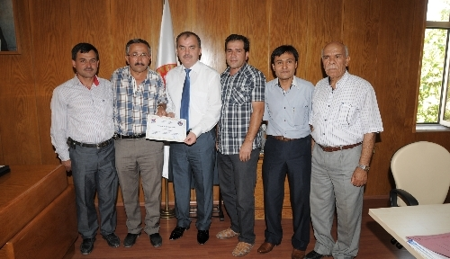 Çakır köyünden Denizli İl Genel Meclis Başkanlığı'na teşekkür belgesi