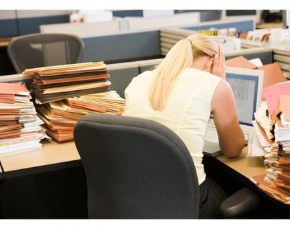 Çalışan kadınların düşmanı, stres ve hareketsizlik