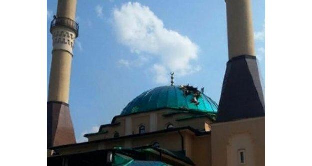 Cami'ye büyük hakaret!
