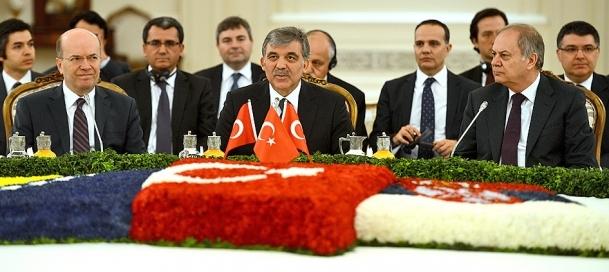 Çankaya Köşkü'nde Üçlü Balkan Zirvesi