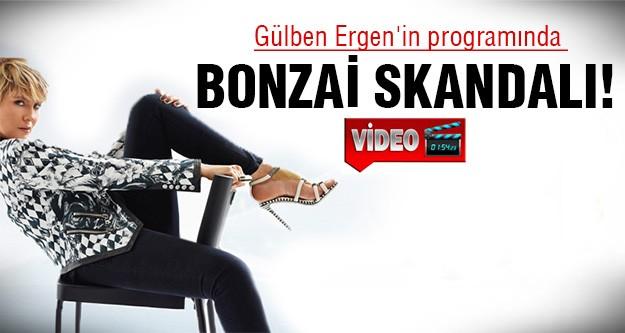 Canlı yayında Bonzai şarkısı söylemiş!