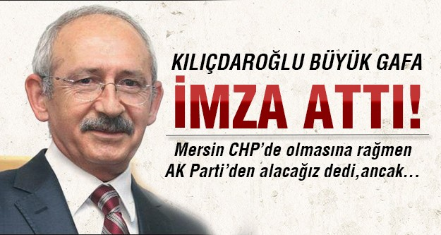 CHP Mersin'i kaptırdı!
