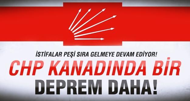 CHP'de 3 istifa daha