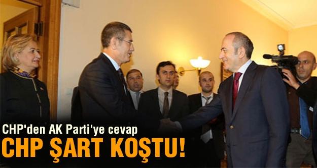 CHP'den AK Parti'ye cevap