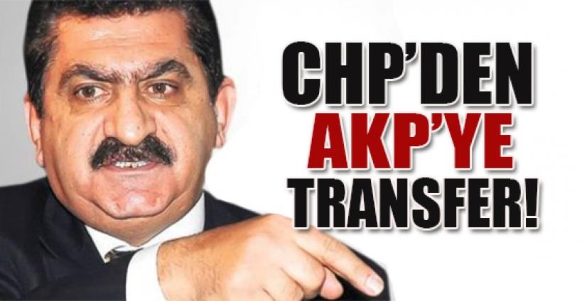 CHP'den AK Parti'ye transfer!