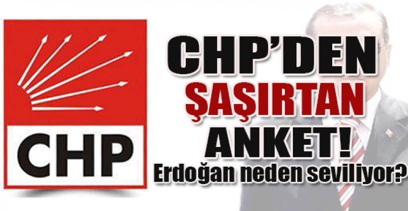 CHP'den şaşırtan anket: Erdoğan neden seviliyor