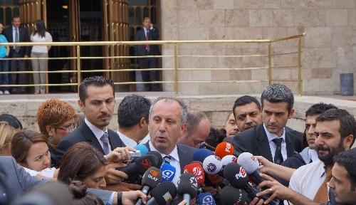 CHP'li İnce: 9 vatandaşımız öldüğünde İsrail'e bu tepkiyi gösteremediler