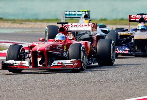 Çin Grand Prix'si Alanso'nun