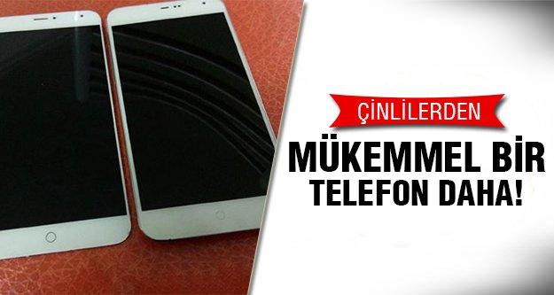Çinlilerden bir telefon daha geliyor! İşte özellikleri..