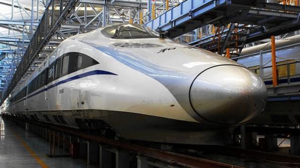 Çinlilerin çılgın hızlı tren projesi!