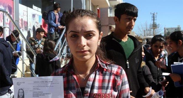 Cizre'de sınav sürgünü!