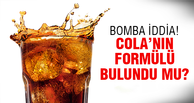 Cola'nın formülü çözüldü!