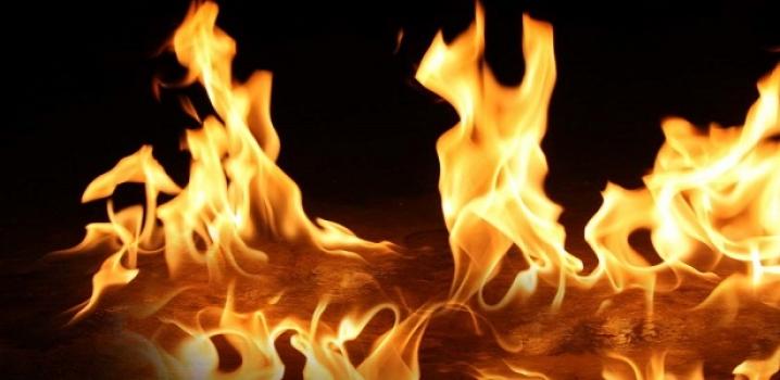 Çorum'da yangın