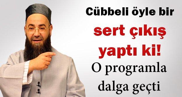 Cübbeli Ahmet Hoca, Nihat Hatipoğlu'yla dalga geçti!