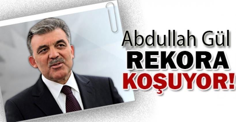 Cumhurbaşkanı Abdullah Gül 1 ayda rekor sayıya ulaştı...