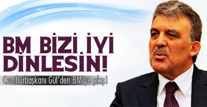 Cumhurbaşkanı Gül'den BM'ye çıkış