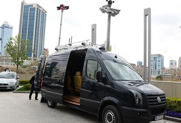 Cumhurbaşkanı Gül'e yüksek teknolojili koruma