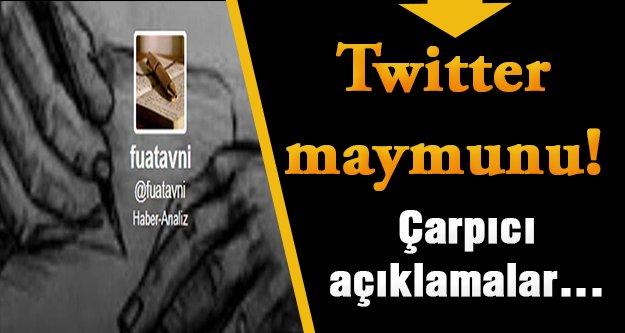 Cumhurbaşkanlığı İnternet Yayın Müdürü: Twitter maymunu Fuat Avni