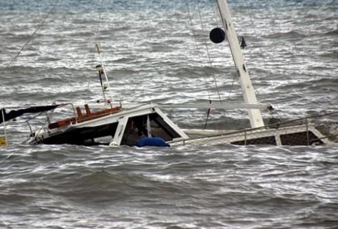 Datça'da tekne battı!