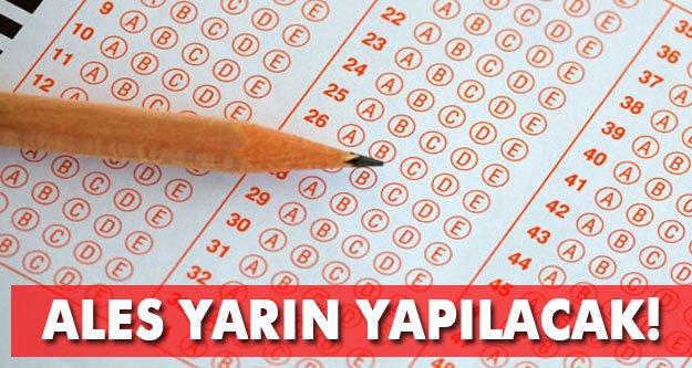 Dikkat! Yarın sınav var!